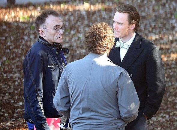Los actores conversan con Danny Boyle
