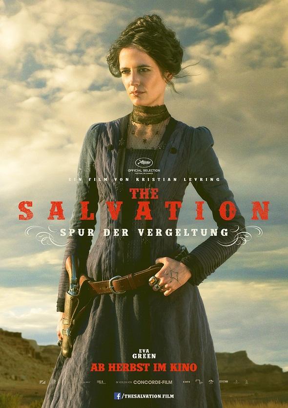 Eva Green tiene su propio póster de 'The salvation'