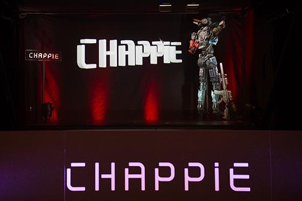 Una imagen de la Conferencia holográfica Chappie