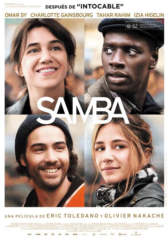 Póster en español de Samba