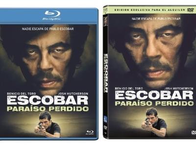 Escobar en DVD y BD