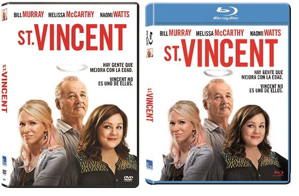 ST. Vincent ediciones DVD y BD