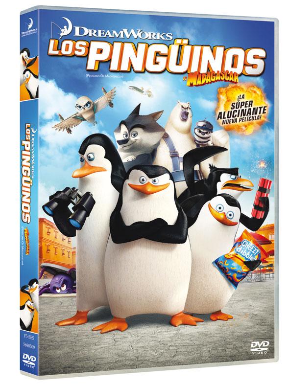 DVD 'Los pingüinos de Madagascar'