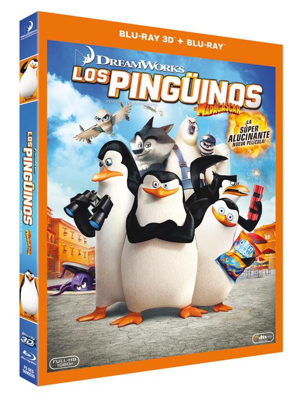 Blu-ray 3D 'Los pingüinos de Madagascar'
