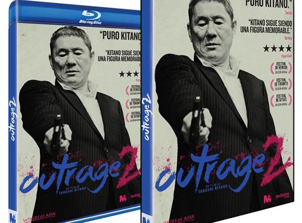 Carátulas DVD y Bluray de 'Outrage2'