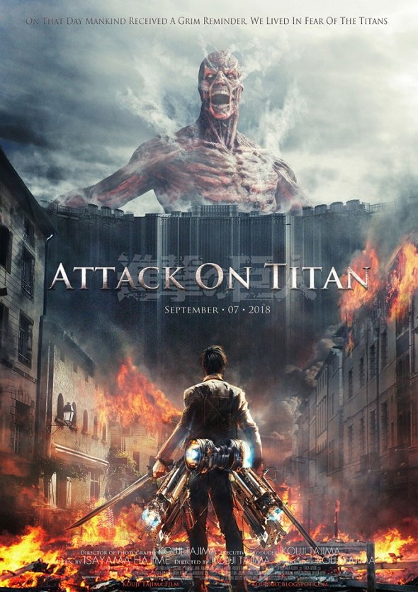 Póster de Ataque a los Titanes (Attack on Titan)