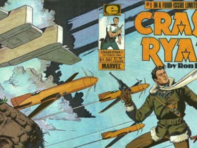 Una portada de Crash Ryan