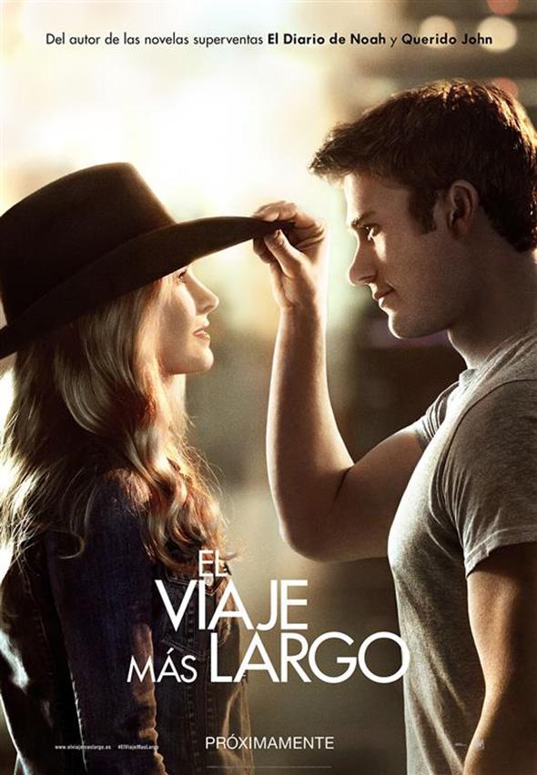 Imagen del póster en español de El viaje más largo