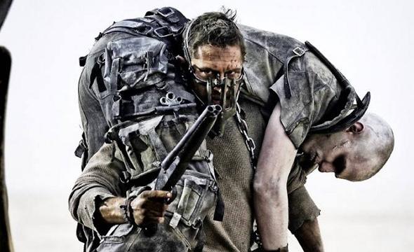 Una escena de Mad Max: Furia en la carretera