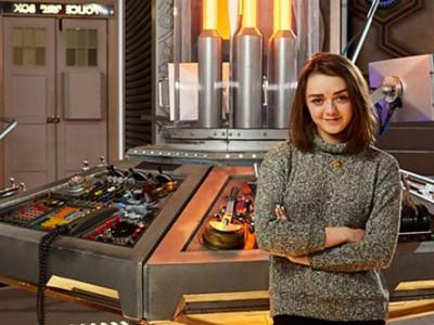 Maisie Williams estará en Doctor Who