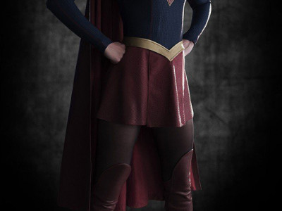 Una imagen de Melissa Benoist como Supergirl