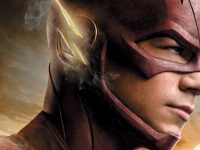 Una imagen de Grant Gustin como 'The Flash'