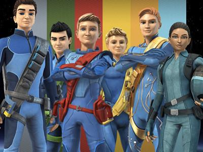 Una imagen de Thunderbirds are go!