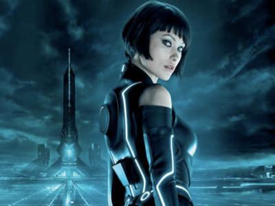 Olivia Wilde en Tron: Legacy
