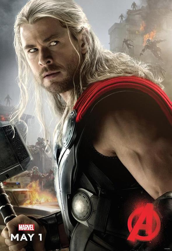 Póster de Thor en Vengadores: la era de Ultrón (Avengers: age of Ultron)