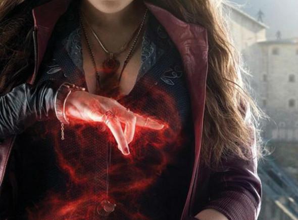 La Bruja Escarlata en Vengadores: la era de Ultrón (Avengers: age of Ultron)