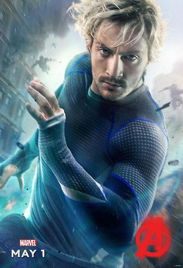 Quicksilver en Vengadores: la era de Ultrón (Avengers: age of Ultron)