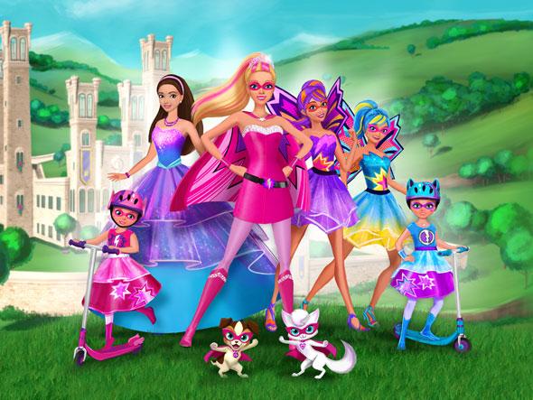 Personajes de 'Barbie Superprincesa'