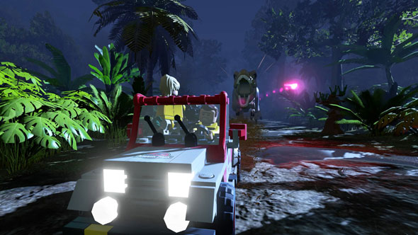 Imagen del juego 'LEGO Jurassic World'