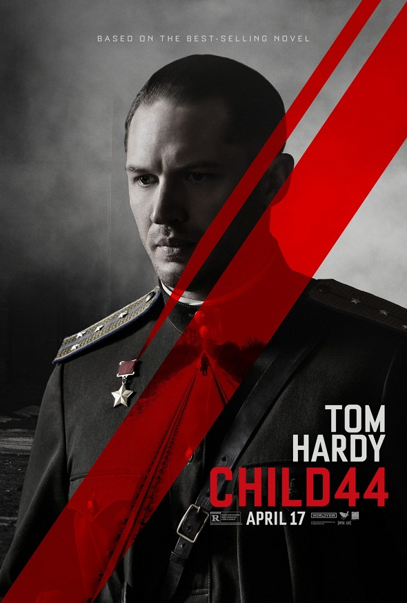 Póster de Tom Hardy para 'El niño 44'