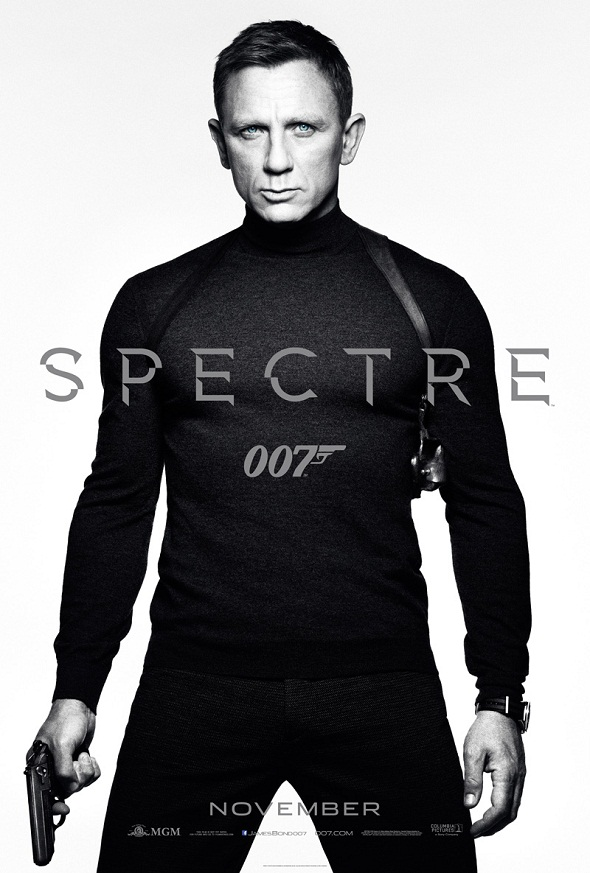James Bond vuelve también con este póster en blanco y negro
