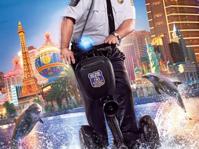 Cartel de 'Superpoli en las Vegas'