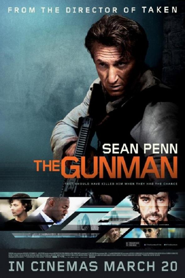 Nuevo póster de 'The gunman'