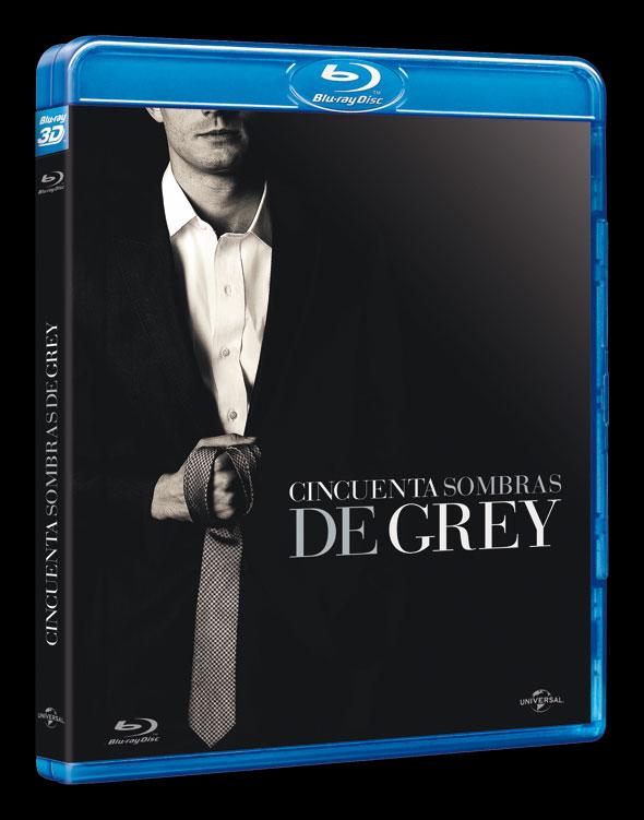 Bluray 'Cincuenta sombras de Grey'