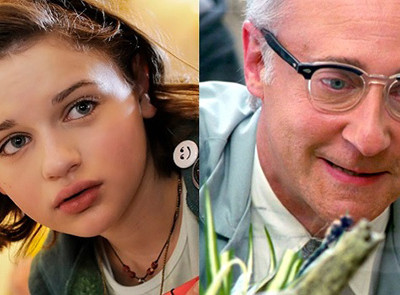 Los actores Joey King y Brent Spiner