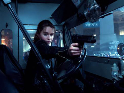 Emilia Clarke en Terminator: Génesis
