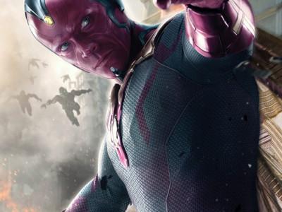 Póster de Visión en Vengadores: la era de Ultrón
