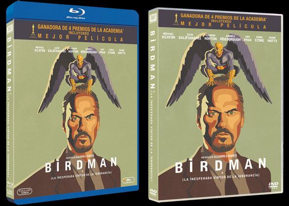 Bluray y DVD 'Birdman'