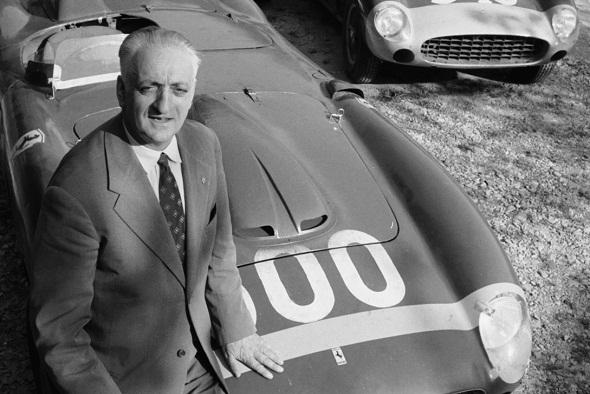El fundador de la casa Ferrari, protagonista de dos películas