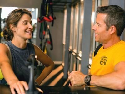 Smulders y Pearce en un momento del film