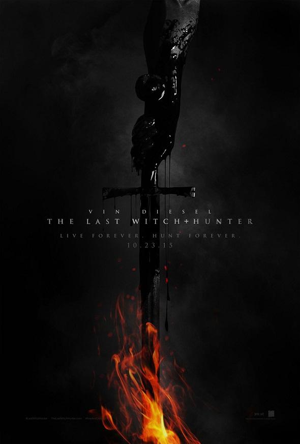 Póster de 'The last witch hunter'