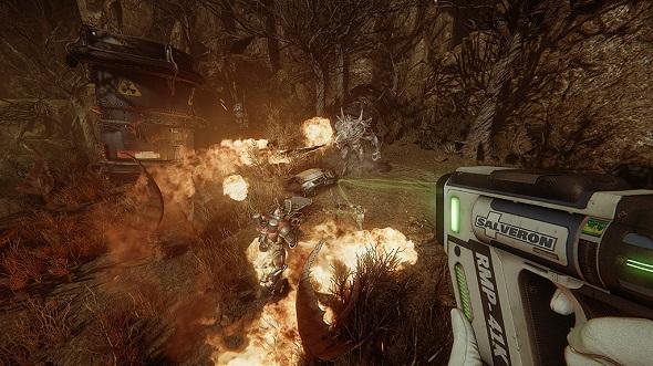 Evolve. Imagen del juego