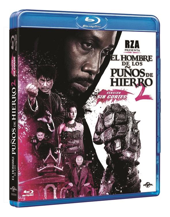 El hombre de los puños de hierro 2 en edición BD