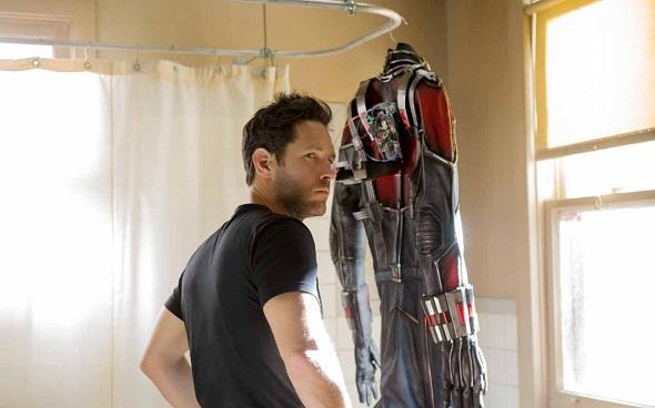 Paul Rudd y su traje de hombre hormiga