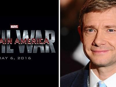 Martin Freeman se incorpora a 'Capitán América: Guerra civil'