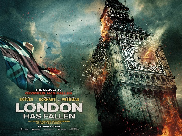 Teaser póster de 'London has fallen'