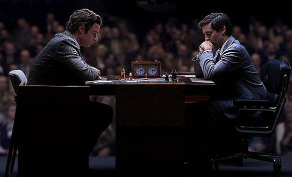Liev Schreiber y Tobey Maguire, cara a cara en 'Pawn sacrifice'