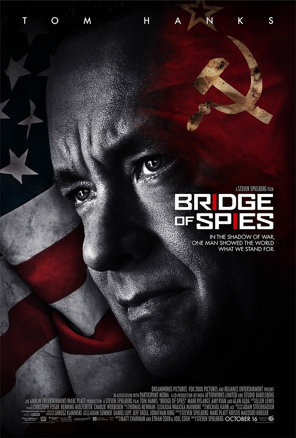 Póster de 'El puente de los espías'