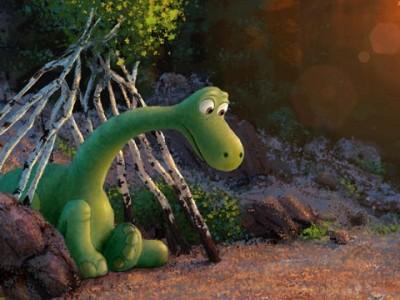 'The good dinosaur' carrusel