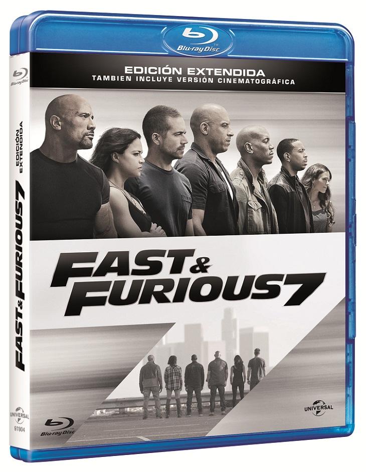 Edición BD de Fast&Furious7