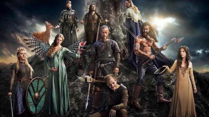 el reparto de Vikings