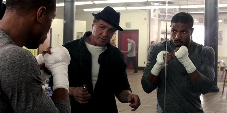 Stallone y Jordan en 'Creed'