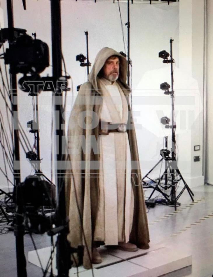 Luke Skywalker en el Episodio VII