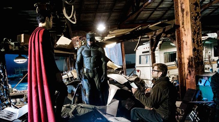 Imagen del rodaje de 'Batman v Superman: El amanecer de la justicia'