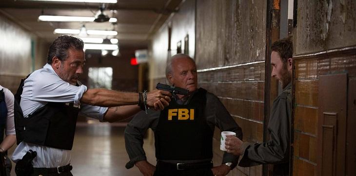 Anthony Hopkins y Jeffrey Dean Morgan en 'Solace'