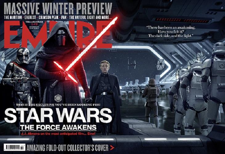 'Star Wars: Episodio VII- El despertar de la Fuerza' estrena portada de Empire